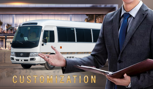 Road of customization service