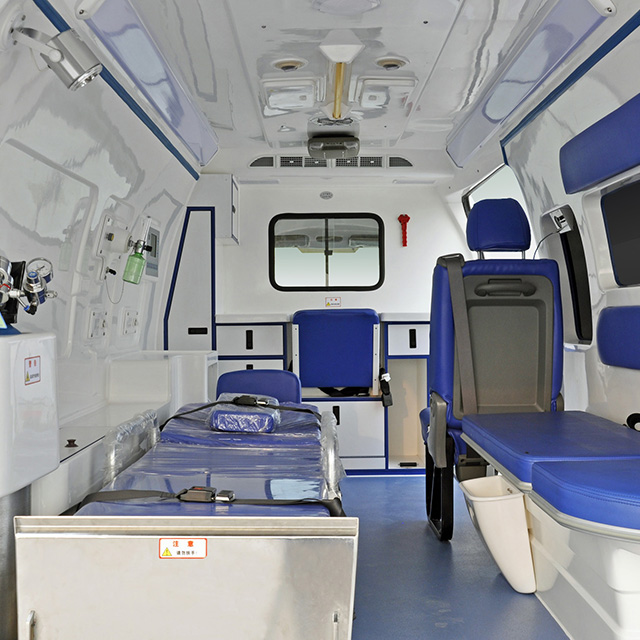 Negative Pressure Monitoring Ambulance
